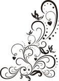 Éléments de conception florale. Images libres de droits