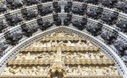 Éléments de décoration au dôme de Cologne Image stock