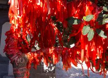 Éléments de décoration chinoise d'art Photo stock