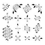 Éléments de décoration de cru Image stock