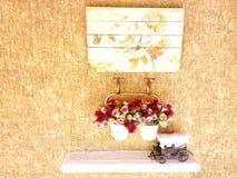 Éléments de Deco de vintage dehors Photos stock