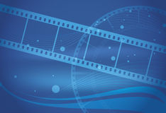 Éléments de film Image libre de droits