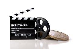 Éléments de film de Hollywood Images libres de droits