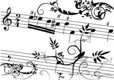 éléments de fond floraux illustration stock