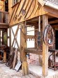 Éléments de forgeron et de cheval photo stock