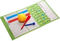 Éléments de golf Images stock