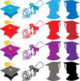 Éléments de graduation photo stock