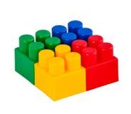 Éléments de jeu de constructeur Photo stock