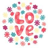 Éléments de jour carte postale, de ` romantiques s de mariage et de Valentine Images stock