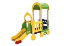 Éléments de la cour de jeu des enfants Image stock