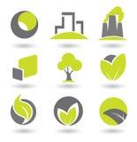 Éléments de logo Images stock