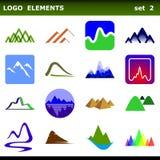 Éléments de logo Photographie stock