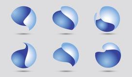 Éléments de logo Photo stock
