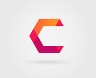 Éléments de Logo Letter Icon Design Template dans le vecteur Images libres de droits