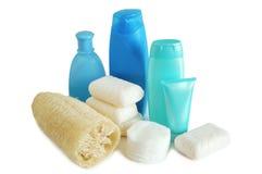 Éléments de ménage pour la propreté Image stock