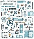 Éléments de machines Images libres de droits