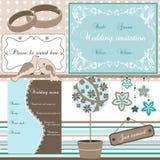 Éléments de mariage,   Image stock