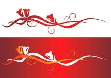 Éléments de milieux de Valentine Image stock
