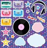 Éléments de musique Image stock