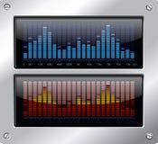 Éléments de musique Photographie stock