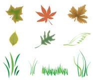 Éléments de nature illustration de vecteur
