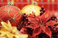 Éléments de Noël Images libres de droits