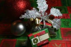 éléments de Noël photographie stock libre de droits