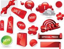 Éléments de promo Image stock