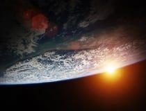 Éléments de rendu de la vue 3D de la terre de planète de cette image meublés illustration libre de droits