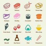 Éléments de sushi Photos stock