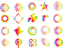 Éléments de symbole de conception graphique Image libre de droits