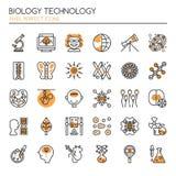 Éléments de technologie de biologie illustration libre de droits