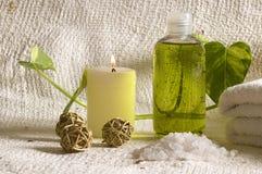 Éléments de thérapie d'arome Photo stock