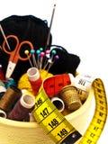 Éléments de tricotage image libre de droits