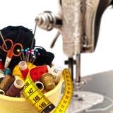 Éléments de tricotage images libres de droits