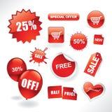 Éléments de vente Image stock