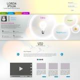 Éléments de web design. Calibres pour le site Web. Photos libres de droits
