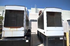 Éléments diesel de générateur de Stanby Photos libres de droits