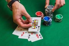 Éléments du casino Photographie stock