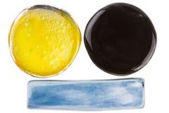 Éléments en céramique faits main Image stock