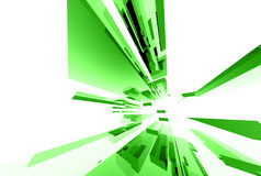 Éléments en verre abstraits 035 Image libre de droits
