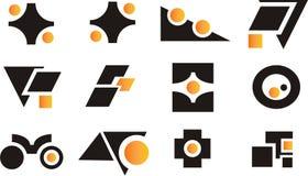 Éléments et logos de conception Image stock