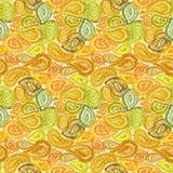 Éléments ethniques Illustr de Mehndi Henna Zentangle Doodle d'aquarelle Photos stock