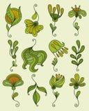 Éléments floraux Image stock