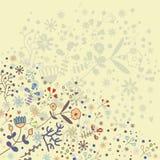 Éléments floraux de ressort Photographie stock
