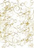 Éléments floraux de trame Photos libres de droits