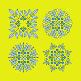 Éléments floraux de vecteur Impression de vecteur pour les produits naturels Photos stock