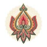 Éléments floraux ornementaux illustration de vecteur