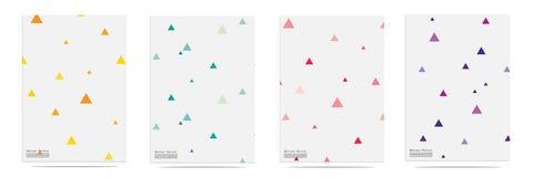 Éléments géométriques à la mode Memphis Pattern Set Illustration de Vecteur
