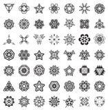 Éléments géométriques abstraits illustration libre de droits